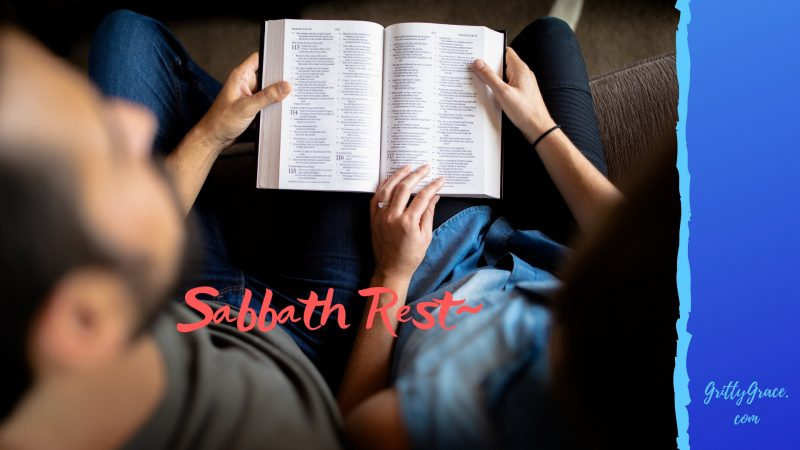 sabbath, rest