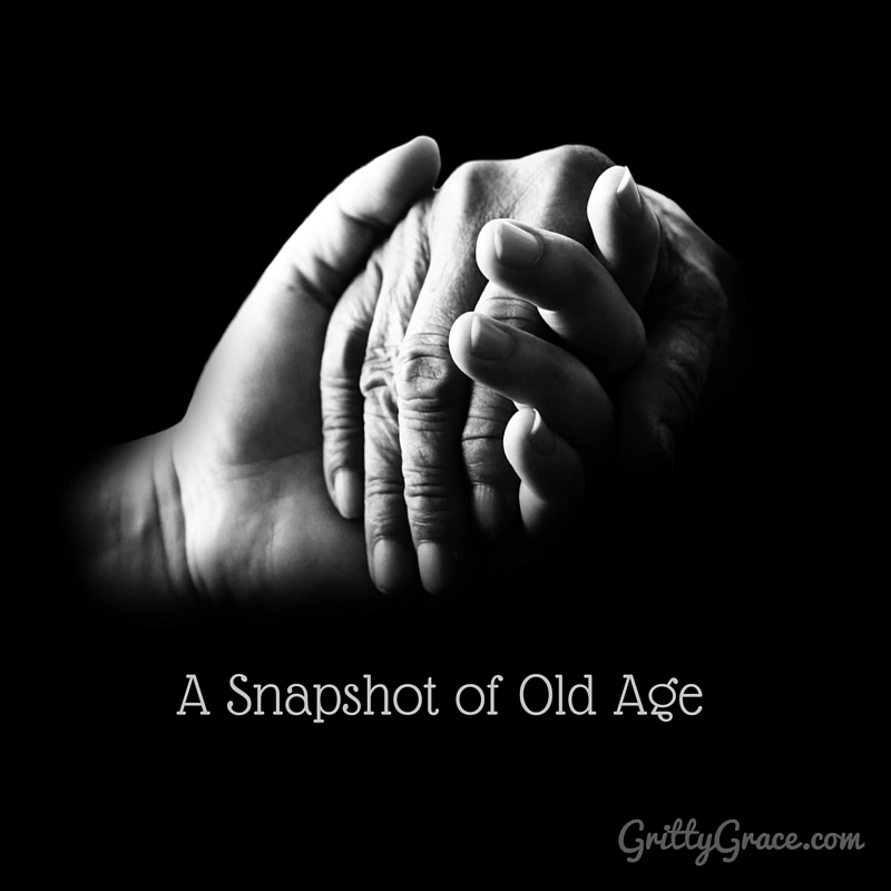 A SNAPSHOT OF OLD AGE…