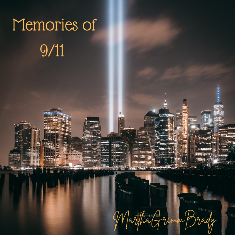 It was just 9 years ago that 911 happened. My middle daughter & her husband lived in nyc. His job was 6 blocks away from where the planes hit...and he saw the first one hit from his office while he was on his phone! Fortunately, I slept late that day and didn't hear about it untile my daughter called to tell me about it. Otherwise, I would have been a mess because calls from the outside just didn't get through! #memoriesof9/11 #badmemories