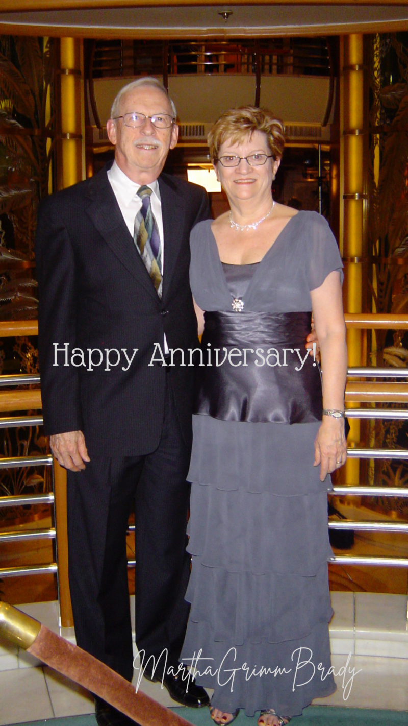 This year we are celebrating our 42 year wedding anniversary along with the second birthday of our 4th grandchild/3rd granddaughter. It has been fun as well as a time of celebrating GOD's faithfulness to us. #weddinganniversary #happyyearstogether