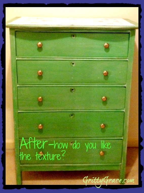 PAINTING FURNITURE WITH CHALK PAINT…