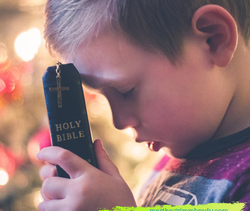 HONEY, IT'S TIME TO GROW UP!  LEARN TO PRAY…