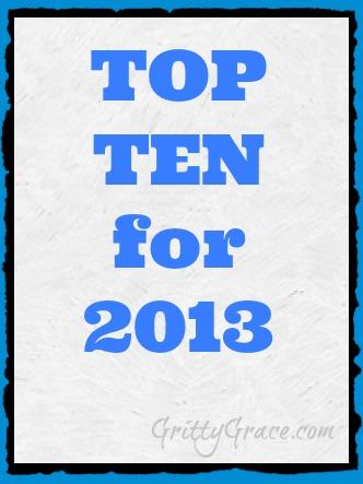 TOP TEN EVENTS OF 2013…