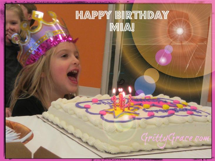 HAPPY BIRTHDAY MIA…