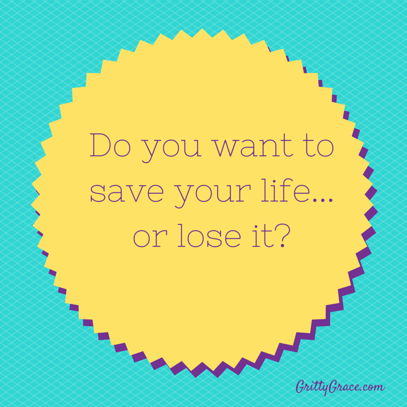 HOW TO SAVE YOUR LIFE…