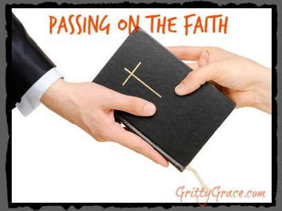 PASSING ON THE FAITH: TRUSTING GOD TO WORK IN OUR KIDS…
