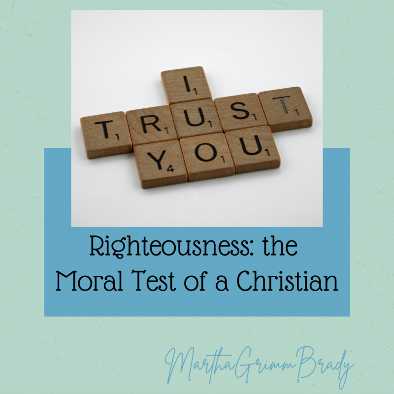The first of 3 tests to tell if we are true believers is the moral test, the test of righteousness. Do we obey GOD's commands? That's one way to know if we are part of His family. #righteousness #areyouachildofGOD?