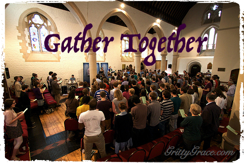 AS WE GATHER TOGETHER…