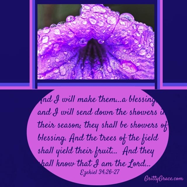 GOD'S BLESSINGS HAVE BEEN SHOWERED ON US!…