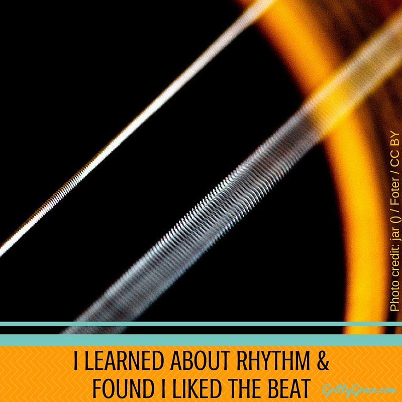 I LEARNED ABOUT RHYTHM & FOUND I LIKED THE BEAT!