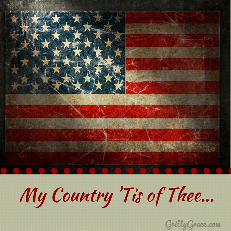 MY COUNTRY 'TIS OF THEE…