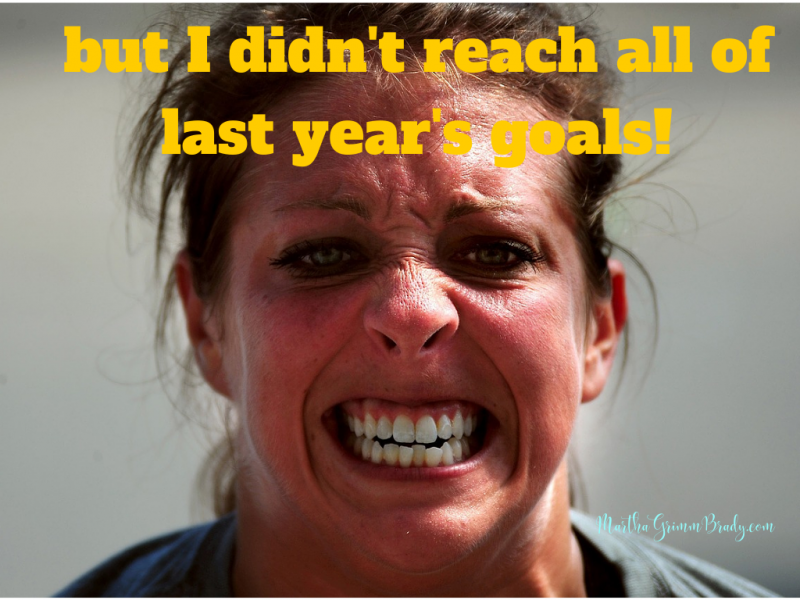 I learned that not all goals will be reached b/c of issues of my weakness, an unrealistic goal or the life circumstances. i have to keep at it to progress. #reachgoals #newyear