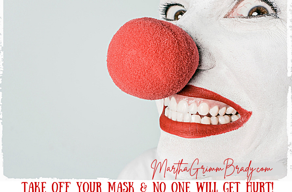 TAKE OFF YOUR MASK AND NO ONE WILL GET HURT!…