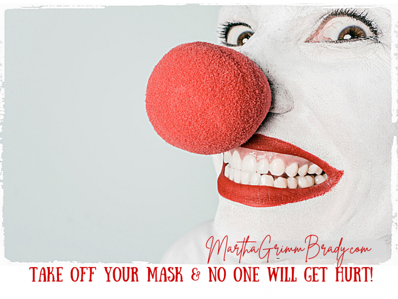 Take off your mask that shows a fake view of what a Christian is...especially one that is in your skin. Christians broken, needy and weak. We need Jesus! #takeoffyourmask #weneedJesus
