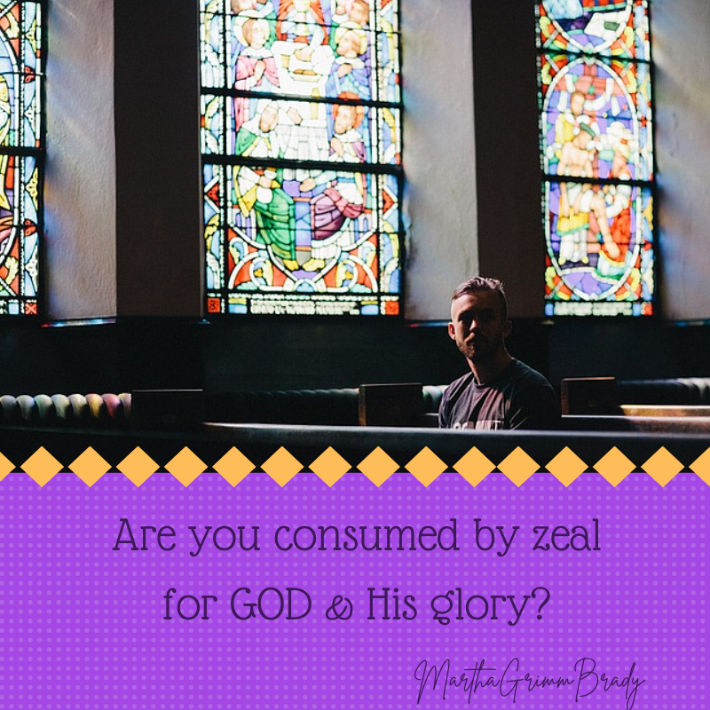 Zeal for your house means more than simply the building. It includes the people and most especially GOD...a zeal for GOD and His glory. #zealforgod #zeal