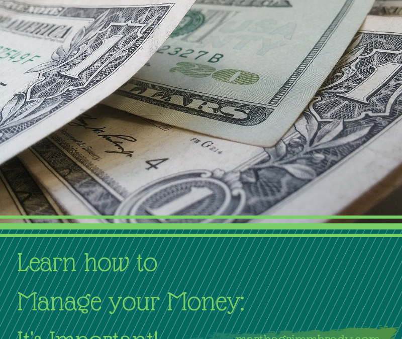 LEARN HOW TO MANAGE YOUR MONEY: THE STORY…