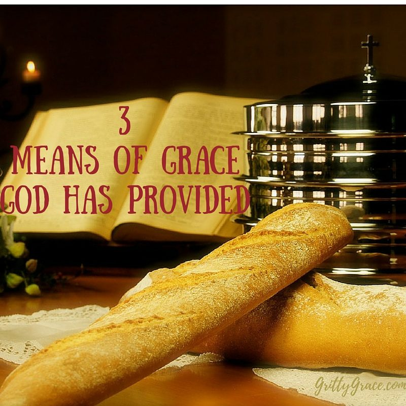 3 MEANS OF GRACE GOD HAS PROVIDED FOR YOU…