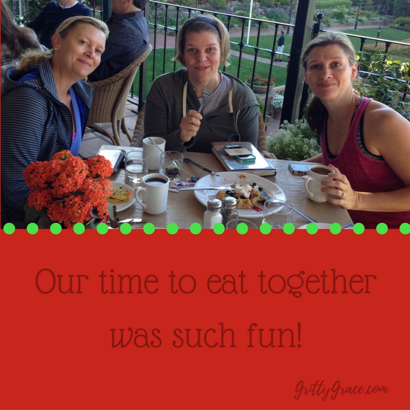 OUR TIME TO EAT TOGETHER WAS SUCH FUN!…
