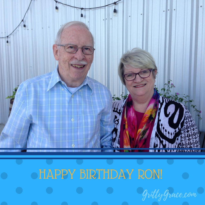 HAPPY BIRTHDAY RON. WHAT A BLESSING YOU HAVE BEEN!…