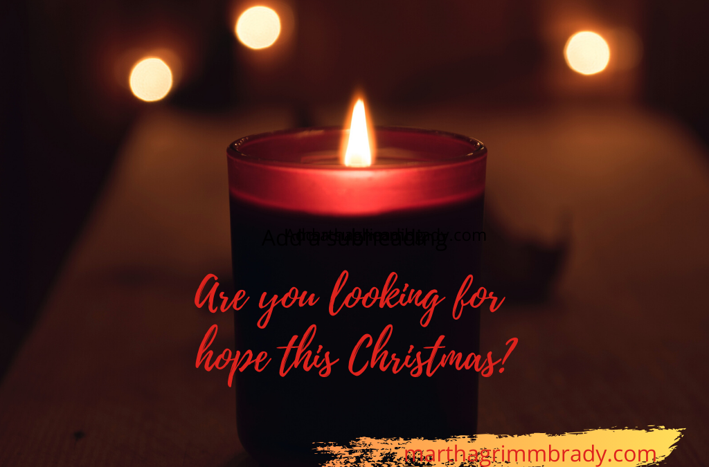 ARE YOU LOOKING FOR HOPE THIS CHRISTMAS? FOLLOW THE LIGHT…