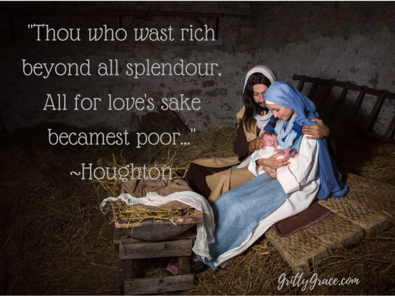 THE ONE WHO WAS RICH BECAME POOR SO WE COULD BE REDEEMED!…