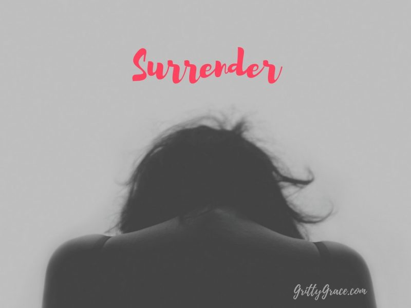 THE IMPORTANT QUESTION: TO WHOM DO I SURRENDER?…