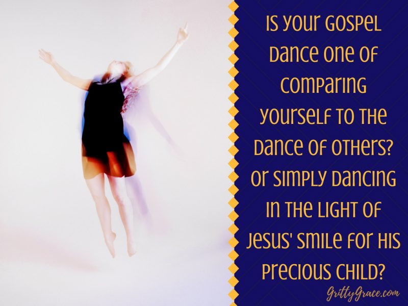 I SAW THE GOSPEL IN OUR AWKWARD, JOYFUL DANCES…
