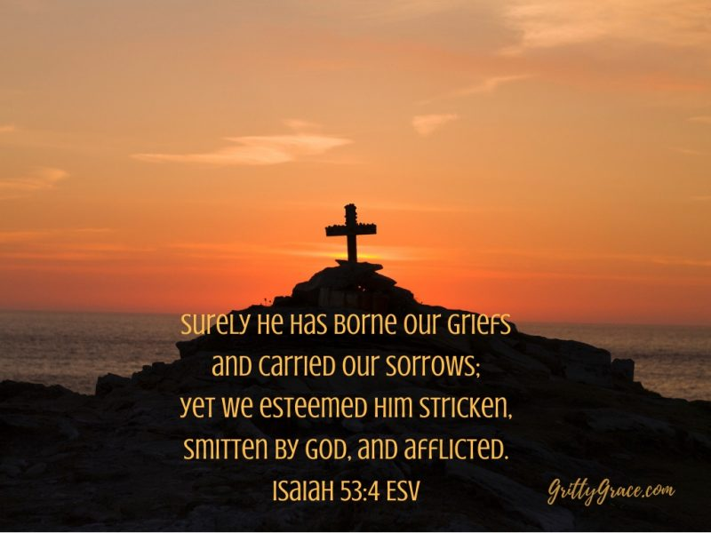 HE WAS STRICKEN, SMITTEN AND AFFLICTED…