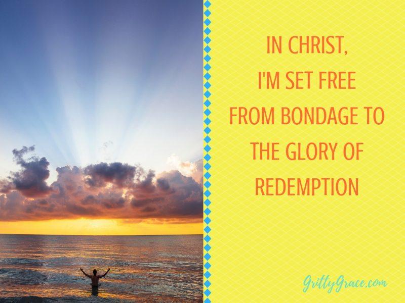set free to glory