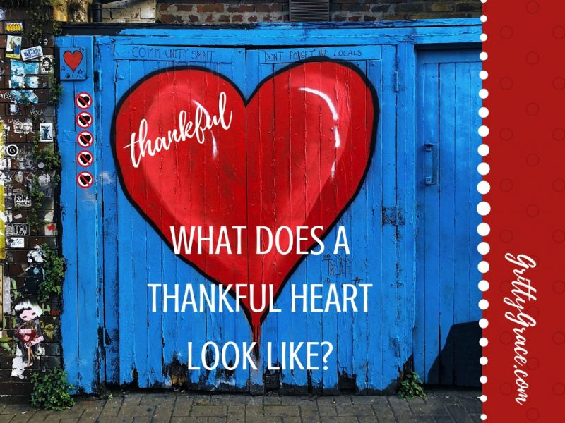 WHAT DOES A THANKFUL HEART LOOK LIKE?…
