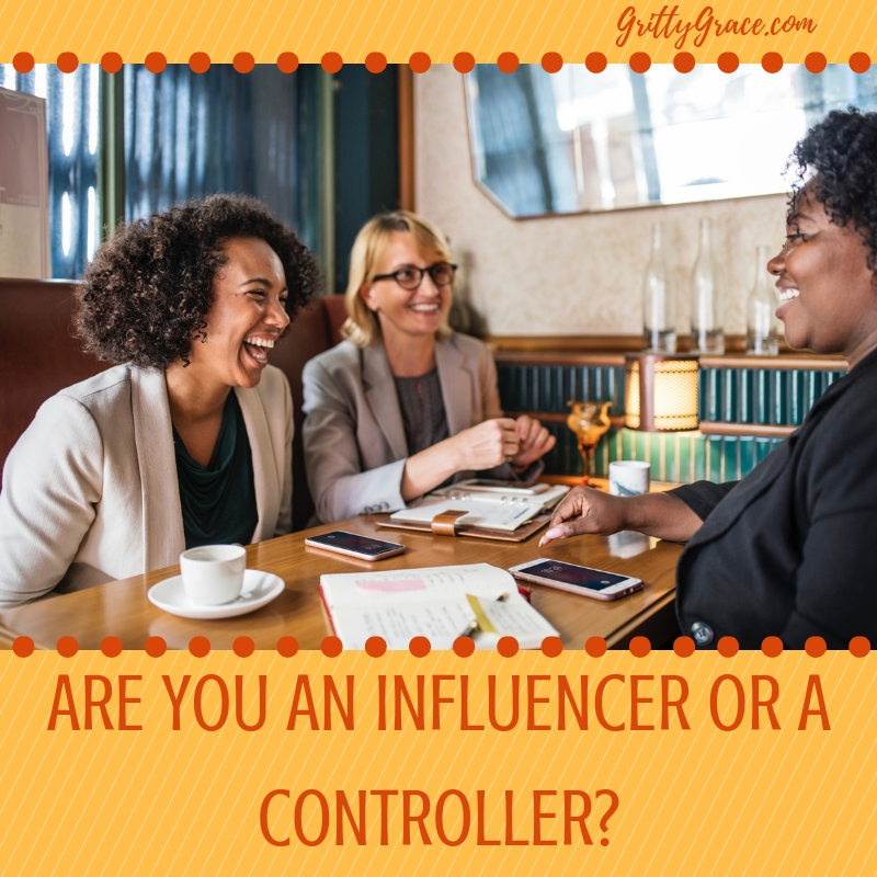 ARE YOU AN INFLUENCER OR A CONTROLLER?…