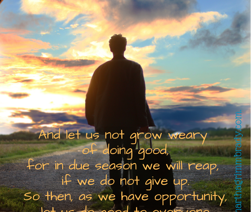 WHAT ARE WE TO DO WITH OUR OPPORTUNITIES?…