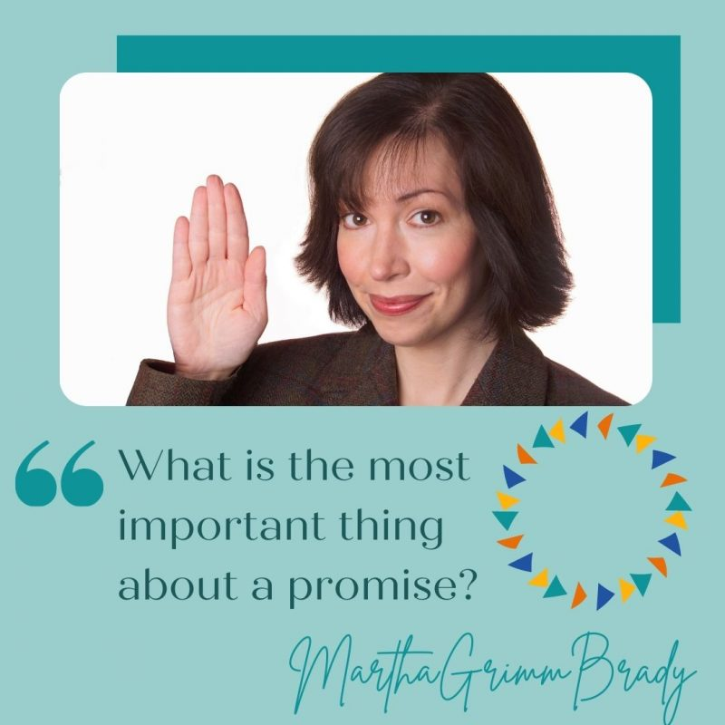 The most important thing about a promise is the person making it. Are they honest? Do they have the resources to keep their promise? #promisesofgod #godkeepshispromises #godisfaithful