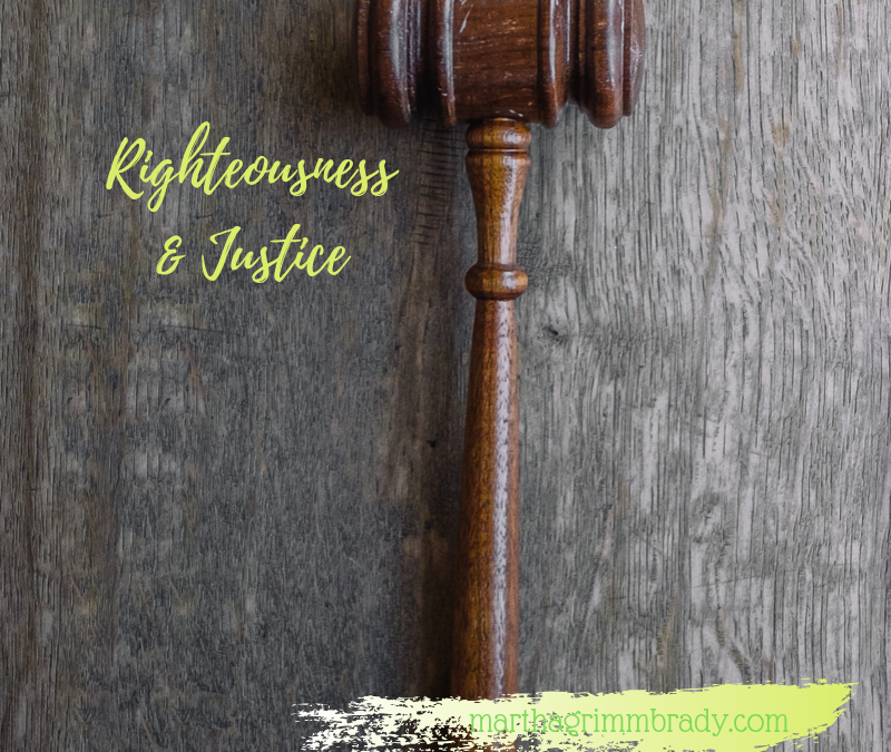 WHO IS GOD?: RIGHTEOUSNESS AND JUSTICE…