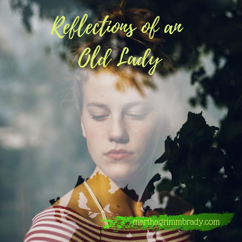 old lady, eternal, transient suffering, inner renewal