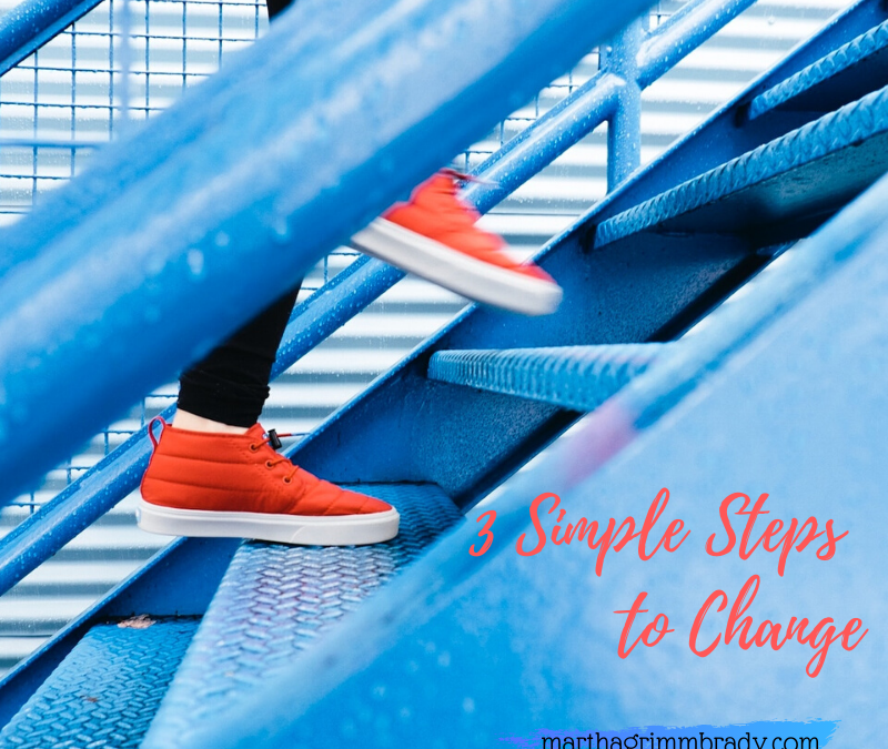 3 SIMPLE STEPS TO CHANGE …