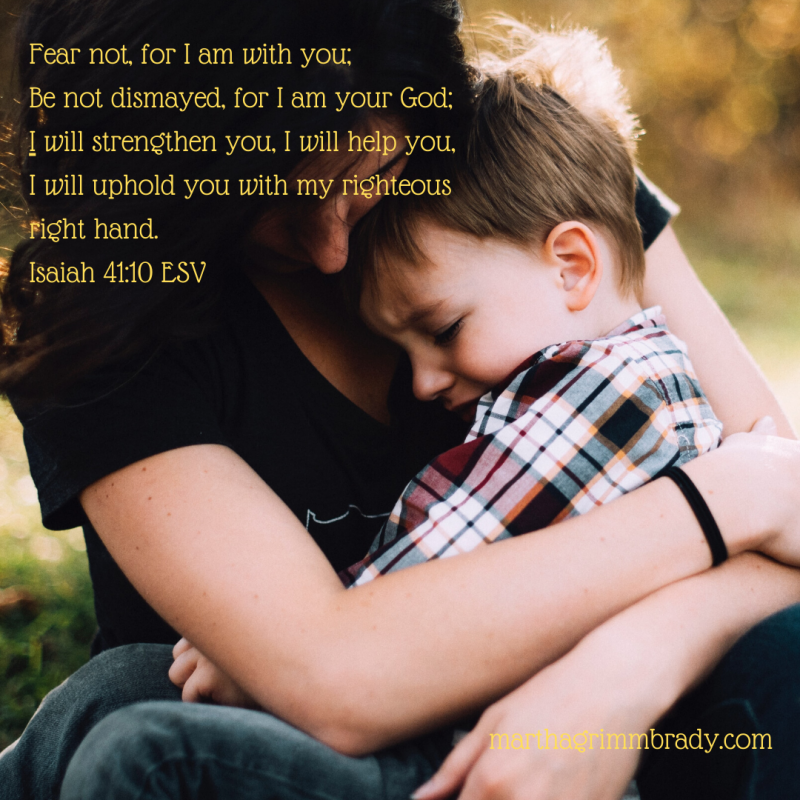 These are challenging times. We need comfort and courage in ways we never needed them before. GOD promises to be with us, those who are in Christ. #courage, #comfort, #frominvisibletoembraced, #marthagrimmbrady, #hopeinGOD
