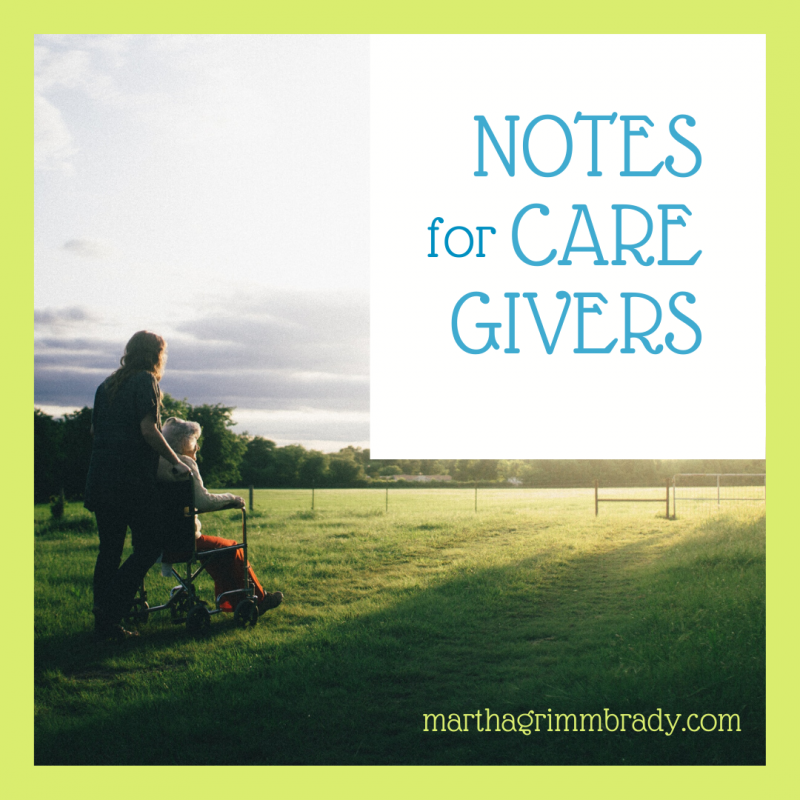 How do you learn to wait patiently in the hospital? I'll tell you. Grab your notebook. You'll need it. #NotesforCaregivers, #Patienceinthehospital, #marthagrimmbrady