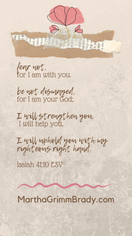 This verse from Isaiah 41:10 is very comforting with its promise from GOD to be with us, to be our GOD, to strengthen us and uphold us. What more can I say? #Iamwithyou #God'spromises #Iwillstrengthenyou