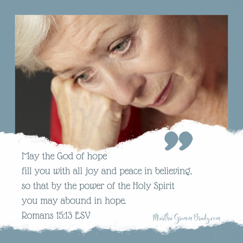 Loneliness is becoming more common in our world as older women. Friends and spouses are ill and dying. It's a fact. There is a lot to be sad about. COVID and political unrest hasn't helped. How do we find hope? #hopeinloneliness #hopeinGod