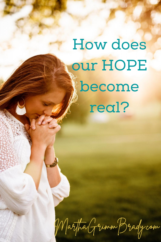 How does our hope become real? We have learned more about the character of GOD that plays a part in our hope. But another part is His promises. Do we know what they are? As we memorize & meditate on them, our hope will be strengthened. #hopeinGod #God'spromises