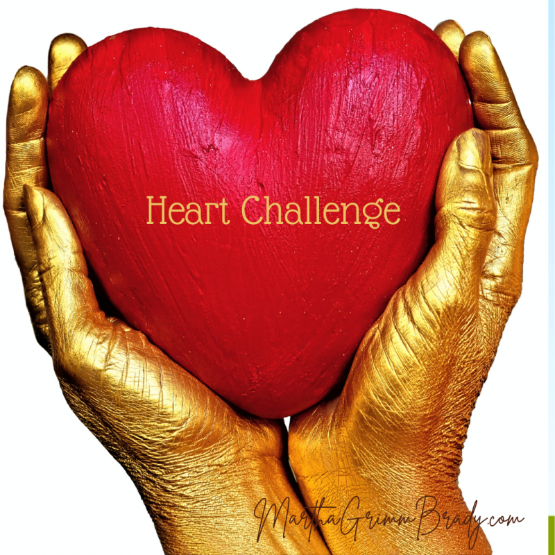 My heart challenge is happening over the next couple of months as I learn to integrate God's truth with my heart and llfe experiences. I know the Gospel relates to the details of real life. #heartchallenge #growthingrace