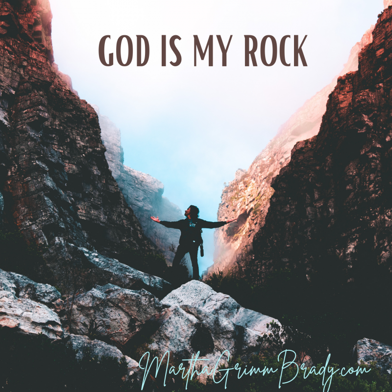 Can GOD be depended on to care for us during times that are unpredictable? Yes! He is strong enough. He has an eternal perspective. He is able to care for us no matter what happens. #theLordismyrock #stabilityinanuncertainworld