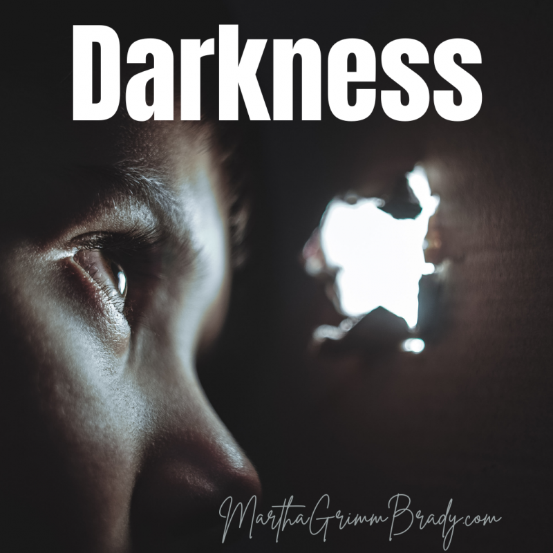 Darkness plays an important role in our spiritual growth. Sometimes it is a needed part of marination of truth. At others, we need darkness and quiet to process hard times when we want to keep busy to escape facing the dark. #GODdoesn'tdesertusinthedark #darknesspushesmetoJesus
