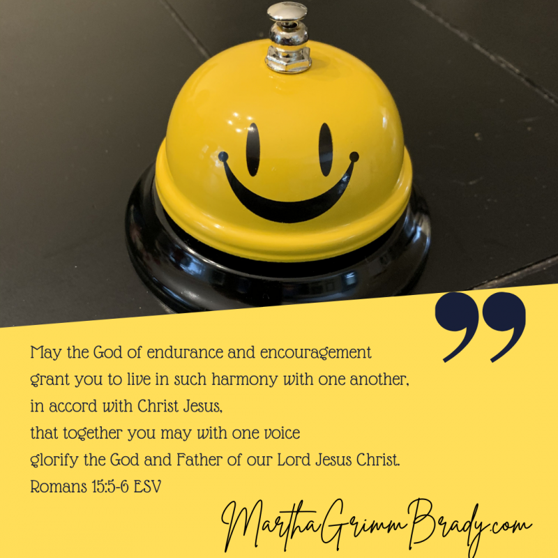 The community of GOD, His Church, is a place that shows me Jesus. Some of the ways I often take for granted, but I see Jesus in many ways here. Having a tangible way to celebrate this can be helpful. Ding-ding. Ring the bell! #Thankful #thechurch