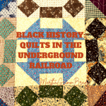 For Black History Month, we are taking a look at the Underground Railroad and how quilts were used to guide slaves/passengers on their journey north. This week we are looking at the Monkey Wrench Quilt and the Wagon Wheel Quilt. #Undergroundrailroad #monkeywrenchquilts #wagonwheelquilts