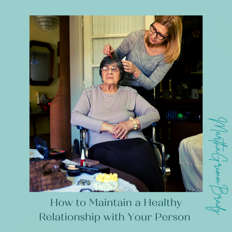 How can you have a healthy relationship with the person you are giving care to? It may be your spouse or a family member, but that doesn't mean you have had a happy history with them. Find support for yourself so you can relate well to them while you care for them. Don't set aside all boundaries simply because they are sick. that is not an excuse for them to behave poorly. #healthyrelationship #caregiver