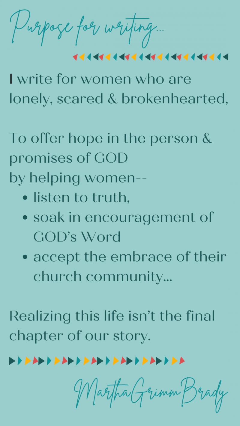 What can I offer you at marthagrimmbrady.com? The short word is: hope. Confident expectation based on the person & promises of God. #hope #confidentexpectation #caregivers #marthagrimmbrady