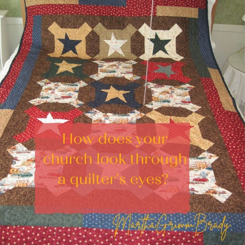 What does church & our relationships here, look like through a quilter's eyes? I know. It's a little out there. But it can give us some perspective on what God is talking about when He tells us to love each other as Christian brothers and sisters. #loveeachother #quiltsareamix #thechurchisamixtoo