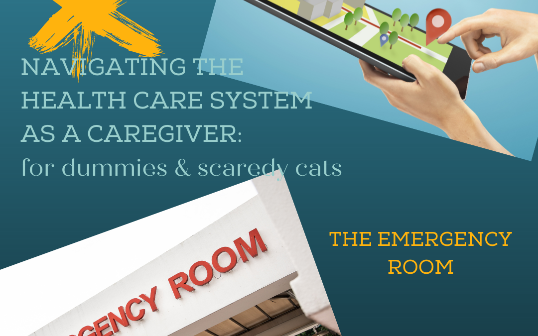 NAVIGATING THE HEALTHCARE SYSTEM AS A CAREGIVER: THE EMERGENCY ROOM…